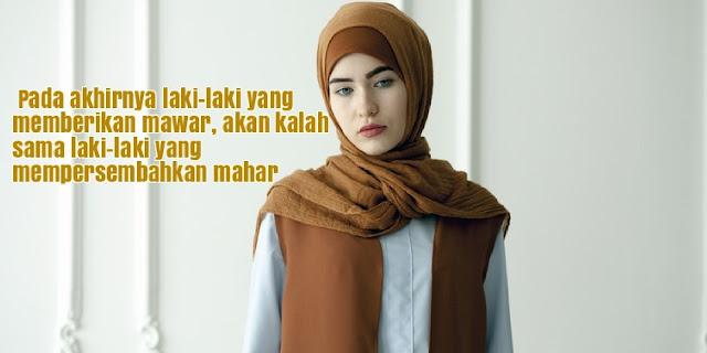 49 Kata Kata Wanita Muslimah yang Menyentuh Hati