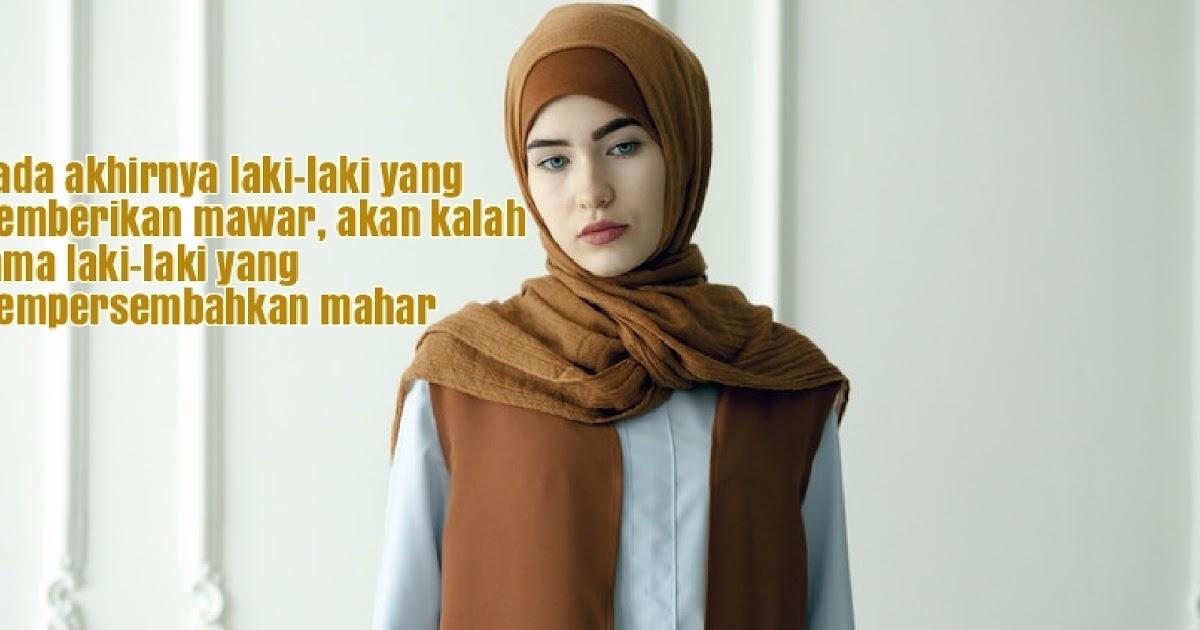 49 Kata Kata Wanita Muslimah yang Menyentuh Hati  Bicara Wanita