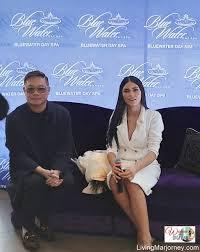 Bb. Pilipinas Universe Gazini Ganados Joins Bluewater Day Spa