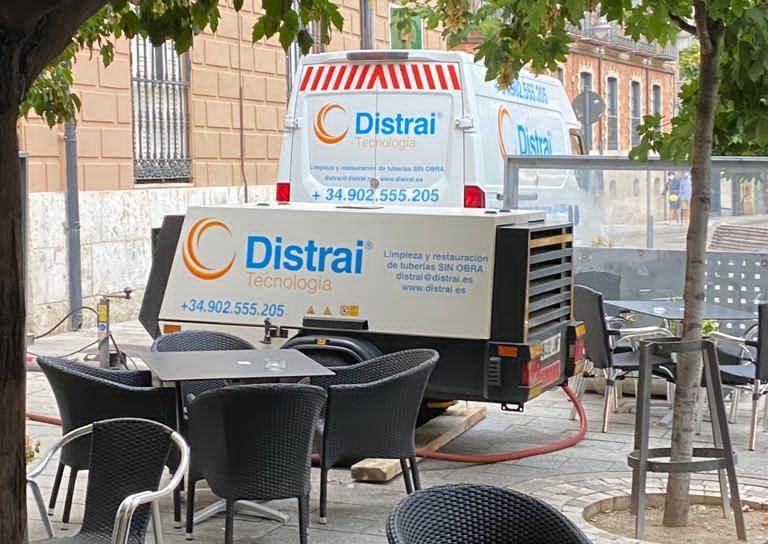 reparación tuberías aguas fecales Valladolid