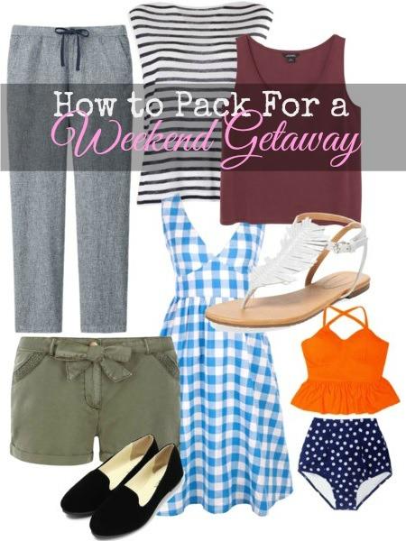 weekend getaway packing tips