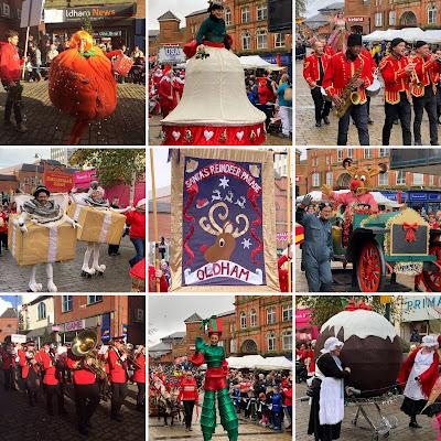 Oldham Reindeer Parade