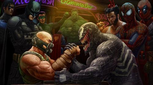Persaingan DC Marvel