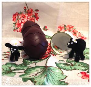 Easter Bunny... chocolate eggs.. uova di cioccolato...