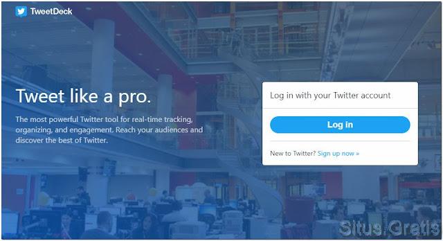 TweetDeck adalah salah satu tool paling ampuh yang dapat membantu Anda tweet seperti seorang profesional