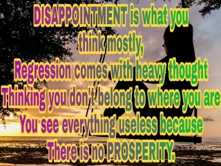 Inspirational Poem on Disappointment