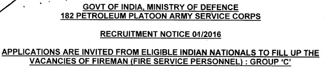 182 Petroleum Platoon Army Service Corps Recruitment
