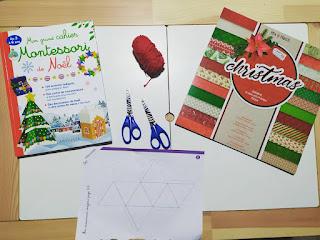 Activités manuelles et pédagogiques sur Noël semaine 1