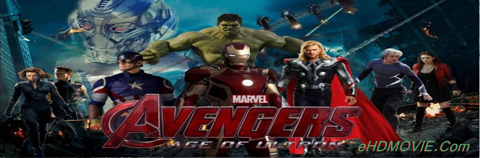 Avengers: Age of Ultron 2015 Full Movie Dual Audio [Hindi – English] 1080p - 720p - 480p ORG BRRip 400MB - 1.1GB - 2.7GB ESubs Free Download