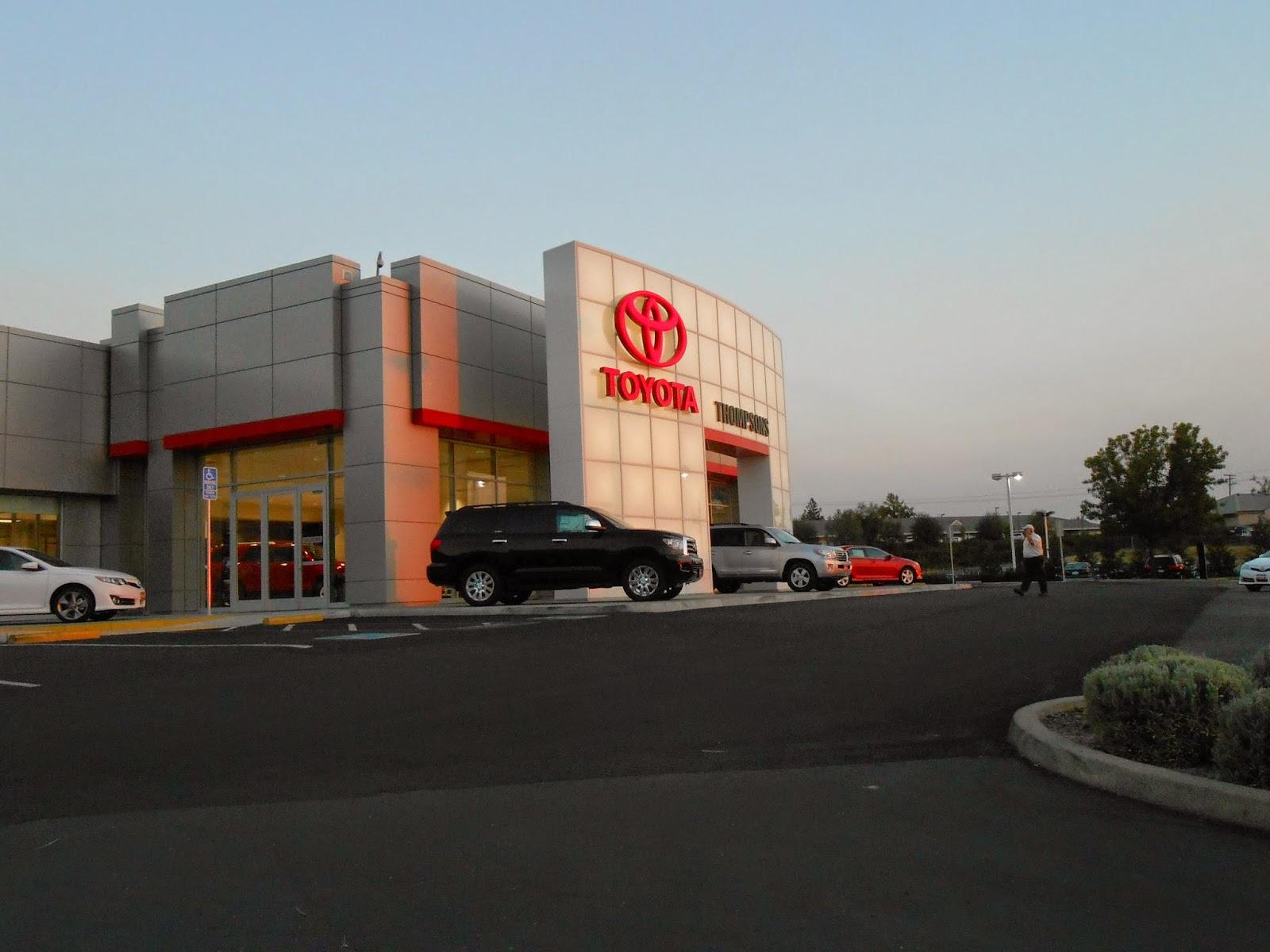 Thompson Toyota Placerville >> Hayden S Business Blog Thompson S Toyota Of Placerville