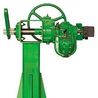 pneumatic rotary vane actuator damper drive