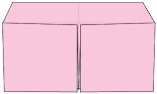 Bước 8: Hoàn thành nắp đậy hộp giấy
