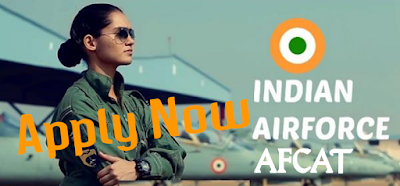 Airforce Common Admission Test AFCAT 01/2020 Notification Out Check Eligiblity & Apply Sarkarinaukariexam.com