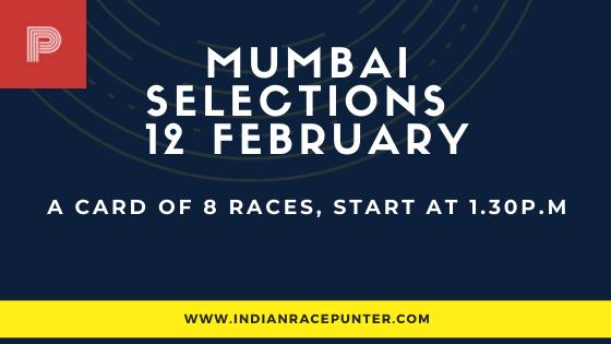 Mumbai  Race Selections 12 February