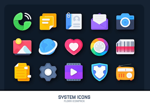 flora material icon pack cracked apk