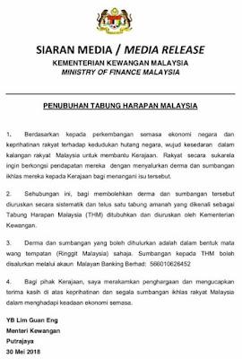 Tabung Harapan Malaysia (THM)