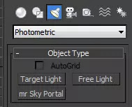 Photometric Lights in 3ds max