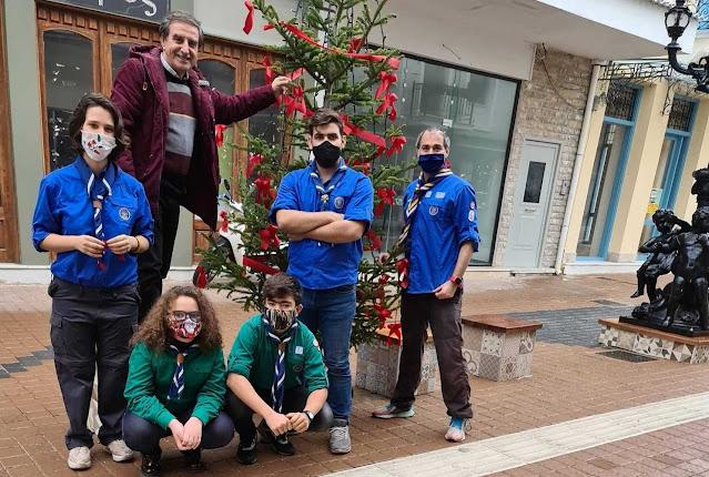 Η ΚΕΔΑΜ και οι Πρόσκοποι του Άργους έφεραν τη Χριστουγεννιάτικη ατμόσφαιρα στο Άργος