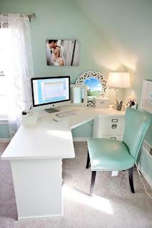 ديكورات مكاتب منزلية ، مكتب فى المنزل