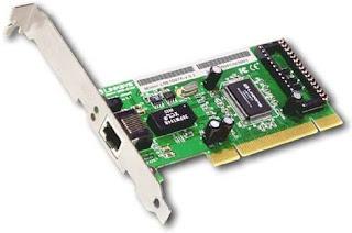 LAN Card - Macam-Macam Perangkat Keras Komputer dan Penjelasannya