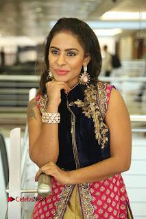 Telugu Actress Sri Reddy Mallidi Stills in White Beautiful Dress at Marriage Needs Bridal Fashion Week 2017 Logo Launch  0127.JPG
