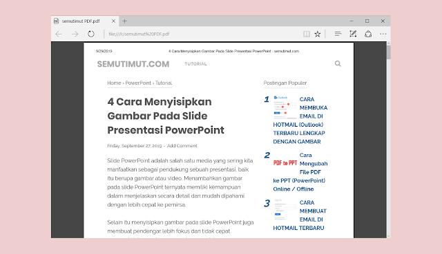 cara membuat hyperlink di powerpoint ke halaman website