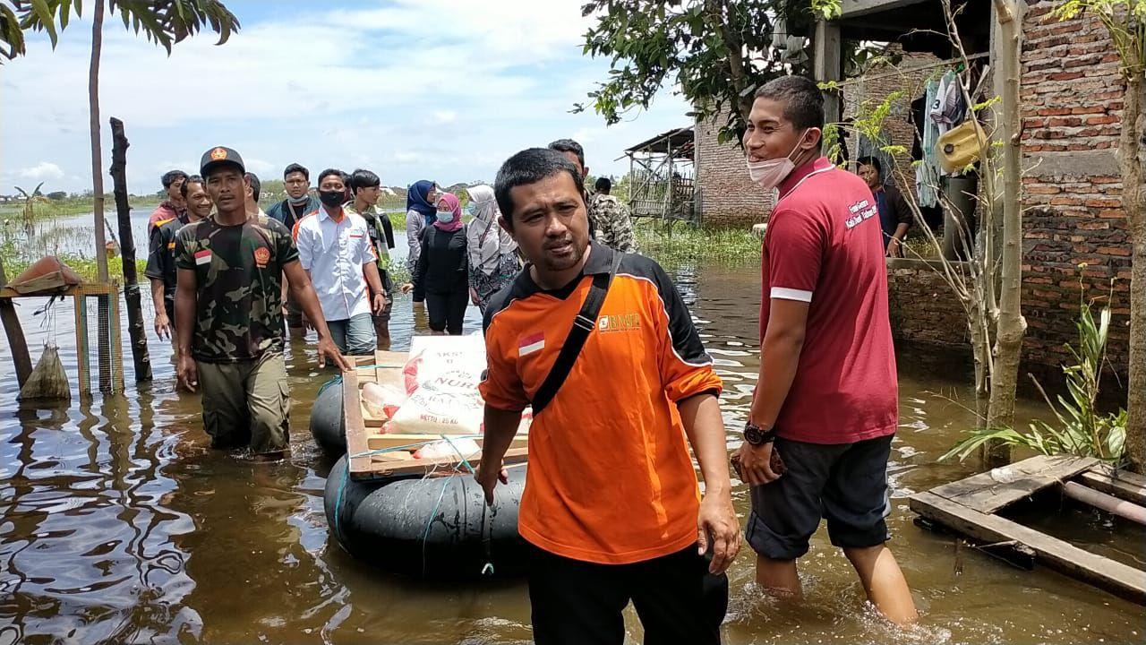TASK Hidayatullah, IMADE Dan SANINDO Salurkan Bantuan Korban Banjir Demak