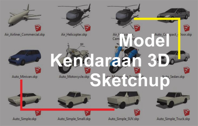 Download 3D Mobil dan Kendaraan