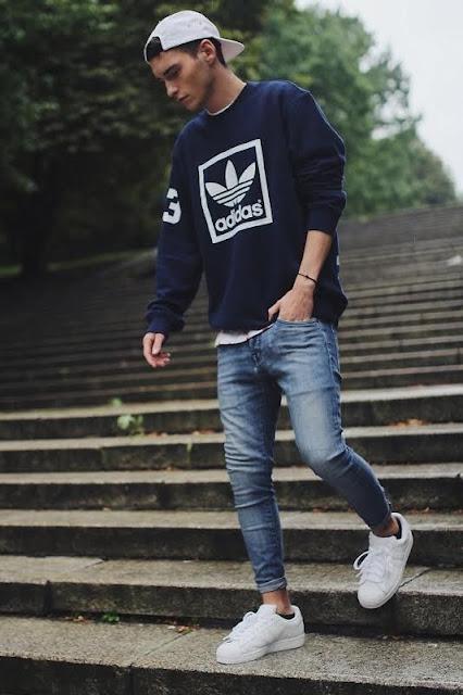 Look masculino adidas