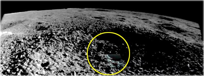 estranha substancia gel encontrada no lado oculto da lua