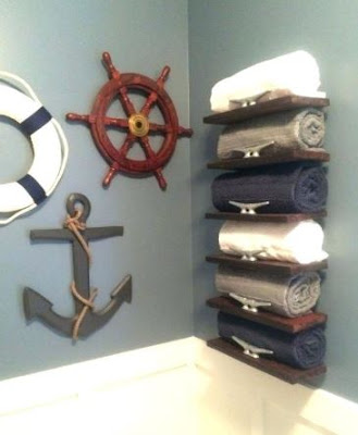 Ideas for Making a Nautical Style Bathroom Simply