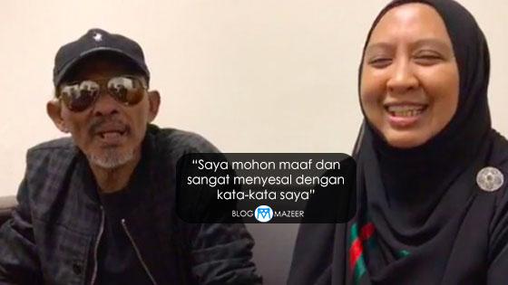 Isu Serang Syarikat Rakaman, Isteri Saleem Akhirnya Memohon Maaf