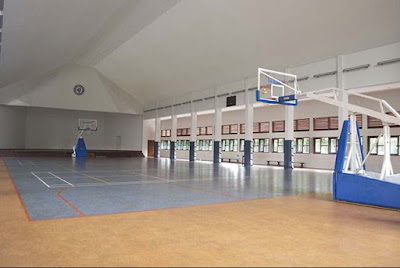 Lapangan Basket Indoor