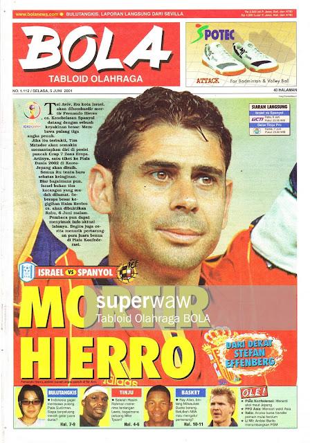 FERNANDO HIERRO SPAIN 2001