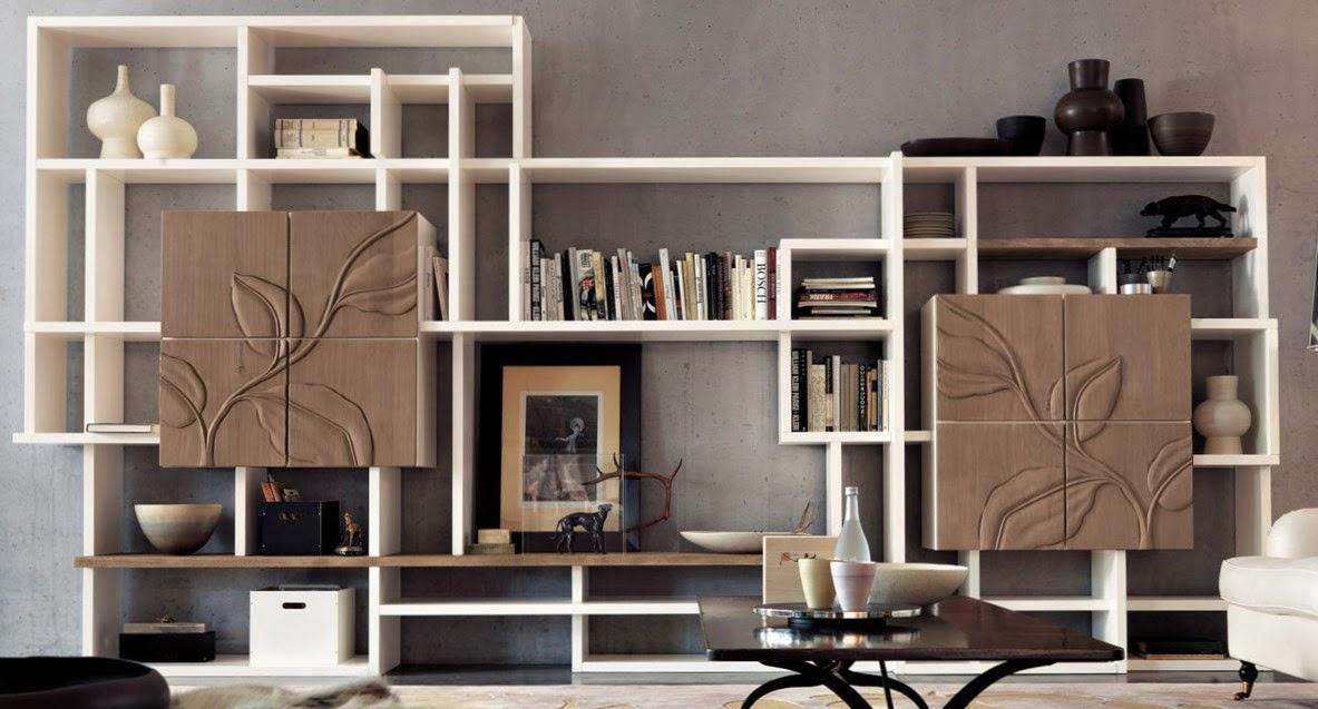 La parete attrezzata for Parete attrezzata design moderno