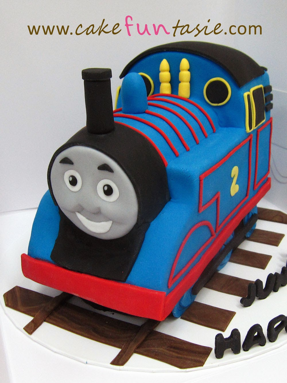 Cake Funtasie 3d Thomas The Train Cake