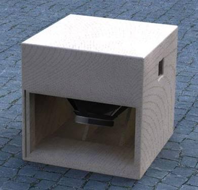 Bentuk Box Speaker Subwoofer 12inch Rumahan Haza Musik