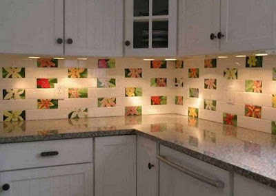 Keramik Dan Dinding Dapur Yang Sesuai Dengan Interior