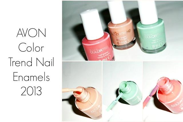 AVON Color Trend Nail Enamels 2013