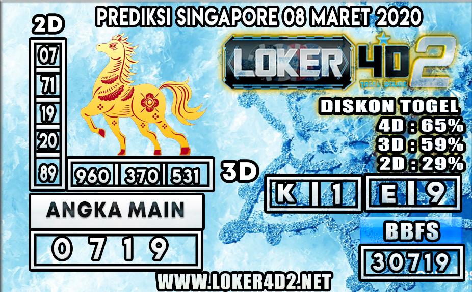 PREDIKSI TOGEL SINGAPORE LOKER4D2 8 MARET 2020