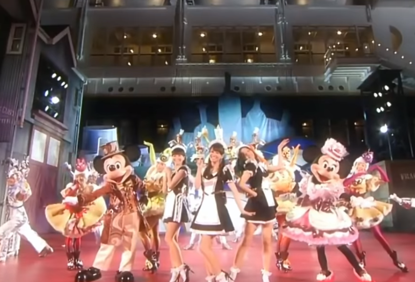 Perfume perform in maid outfits for Disney and showcase actual singing ability | Random J Pop