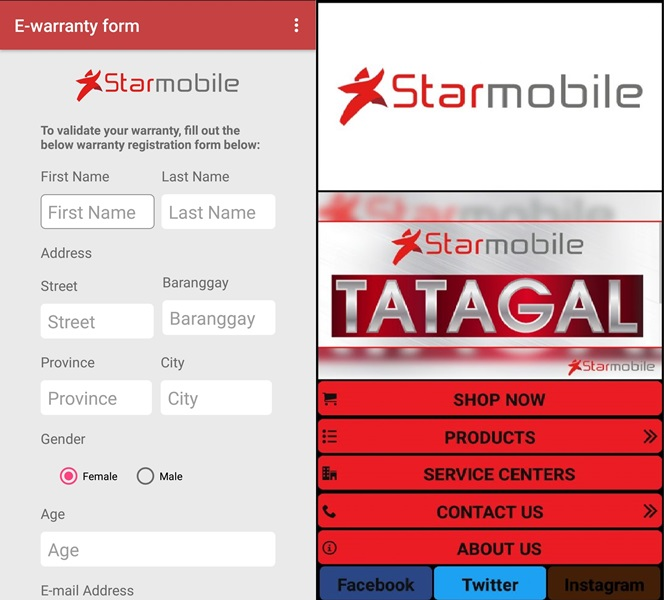 Starmobile Intros Star Phone, E-Warranty Apps to Improve Its Aftersales Service
