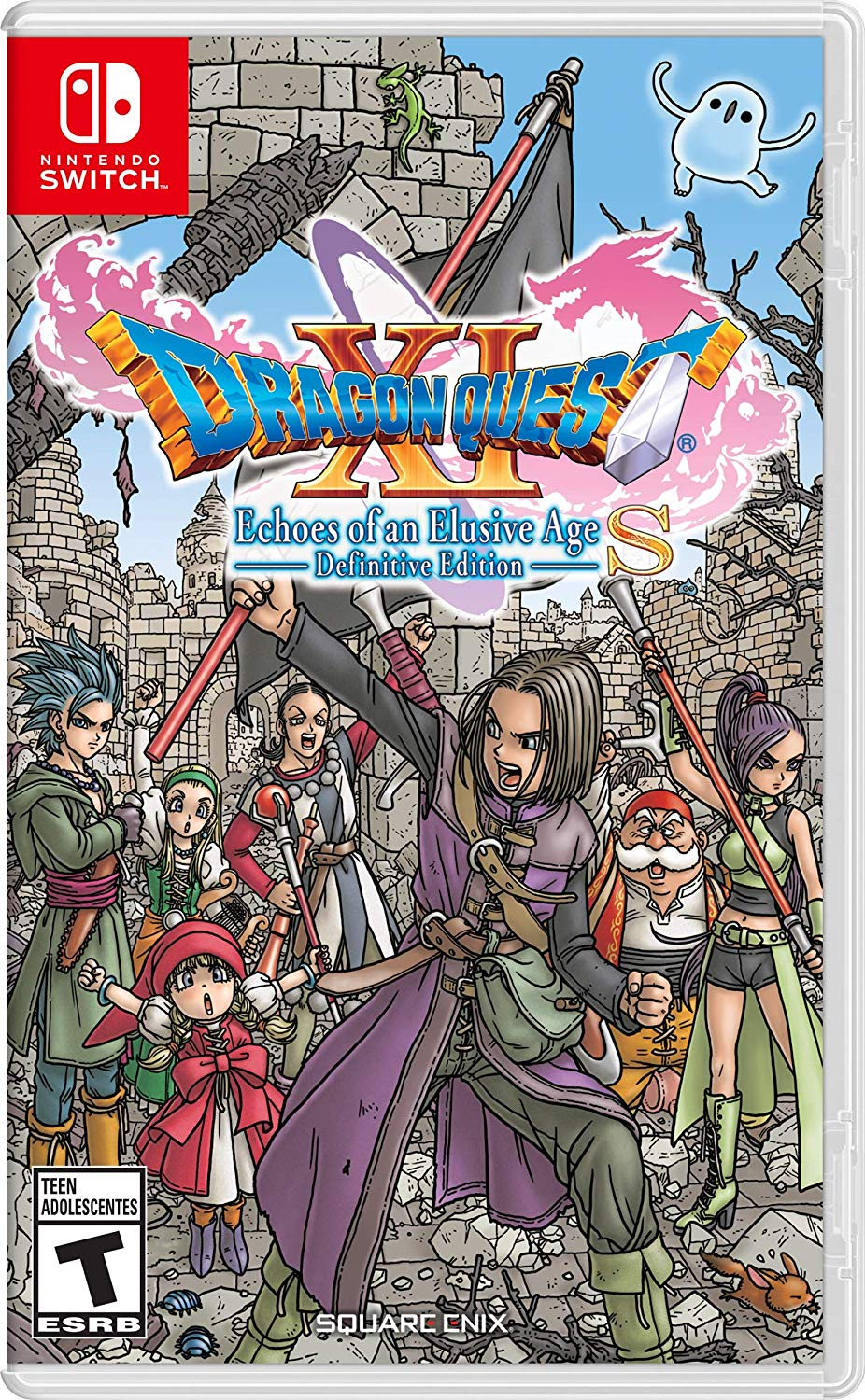 Dragon Quest XI S Echoes of an Elusive Age Definitive Edition NSP Switch