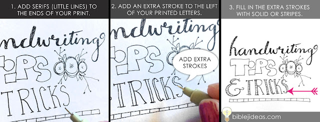 Bible journaling tips & tricks to make your handwriting better