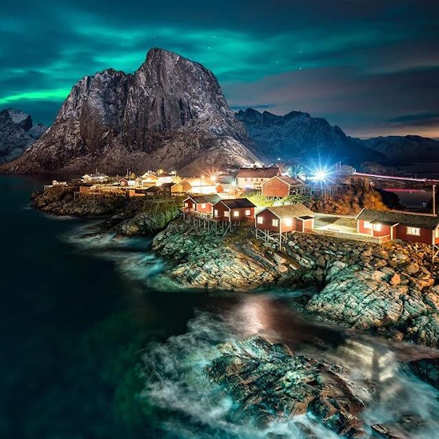 Hamnøy I Lofoten, Nordland, Norway