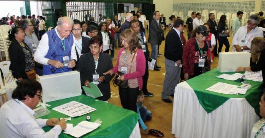 ONPE: Sepa quiénes podrán votar en las Elecciones Internas de Candidatos 2020 (29 Noviembre y 6 Diciembre) Local de Votación - Miembro de Mesa