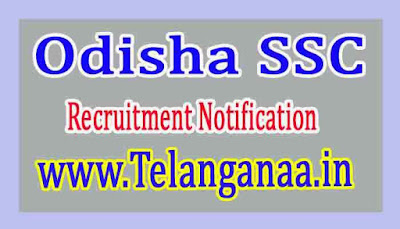 Odisha Staff Selection Commission OSSC Recruitment Notification