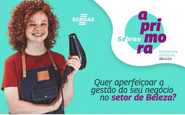 Sebrae Aprimora Beleza está com as inscrições gratuitas abertas no Vale do Ribeira