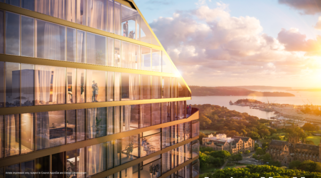 the 100-room Hotel Indigo Sydney Centre is scheduled to open in 2025