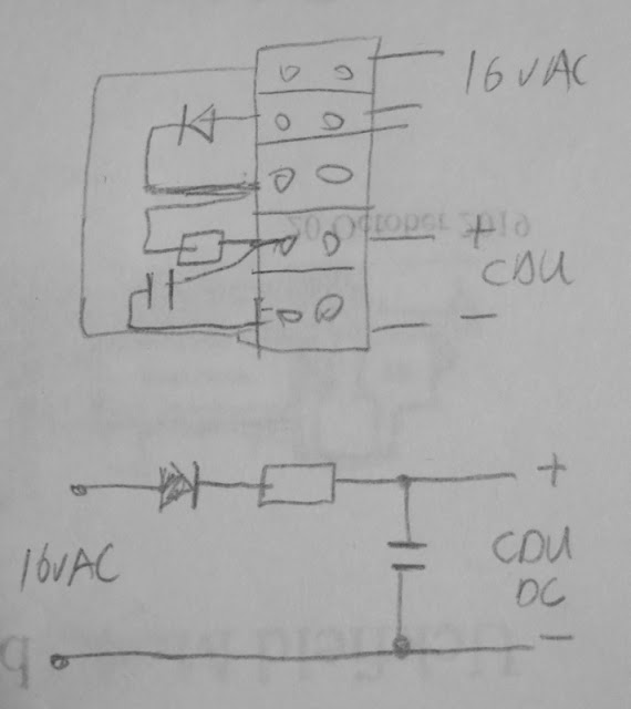 Michael's Model Railways: Mini Capacitor Discharge Unit